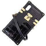 アウトレット品 ルイヴィトン アイトランク X XS iPhoneケース アイフォンケース クロコダイル ブラック スマホケース N95517 並行輸入品