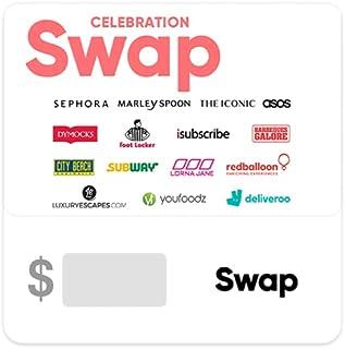 Swap Celebration Gift Card - Delivered via email