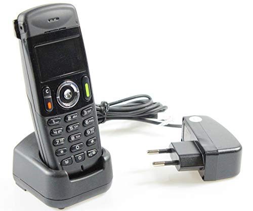 Alcatel Lucent 400 DECT Handset/Mobilteil + Ladeschale geringe Gebrauchsspuren