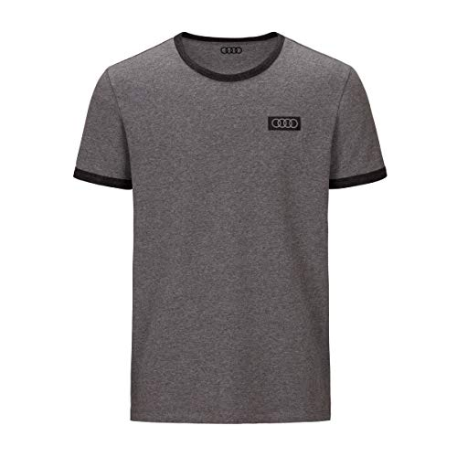 Audi T-Shirt Ringe Herren (XL)
