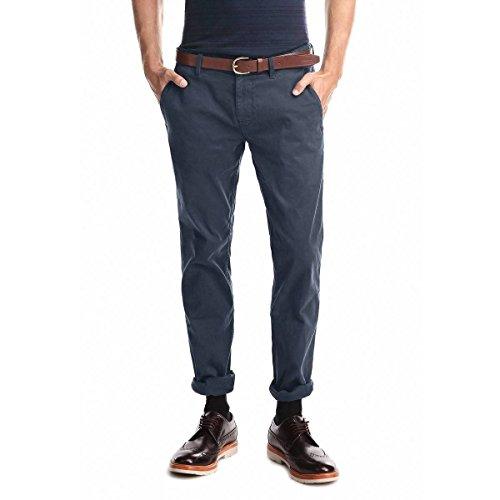 BOSS Orange Herren Schino-Slim1-D Straight Leg Hose, Blau (Dark Blue 402), W32/L34