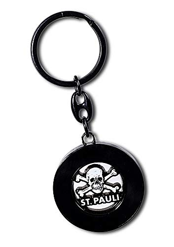 St. Pauli -Totenkopf Schlüsselanhänger Chip