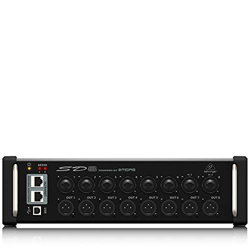 Behringer Digital Snake SD8 Stagebox
