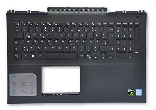 Dell Inspiron 15 7000 Gaming Series (7567) Palmrest With GERMAN Keyboard TWG9N MDC8K KRHKG