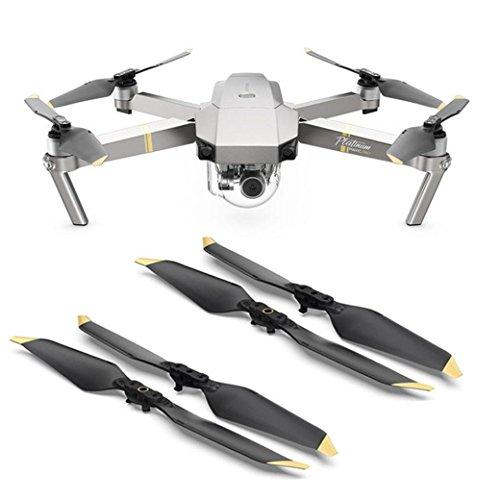 Faltbare Propeller, Zubehör, AMH-Propeller, für DJI Mavic Pro und Mavic Pro Platinum 8331F, 2 Paar, goldfarben