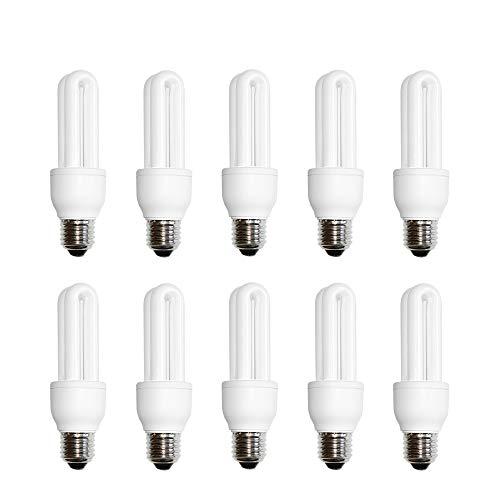 10 x näve Energiesparlampe Röhre 11W E27 kaltweiß Tageslicht 6400K