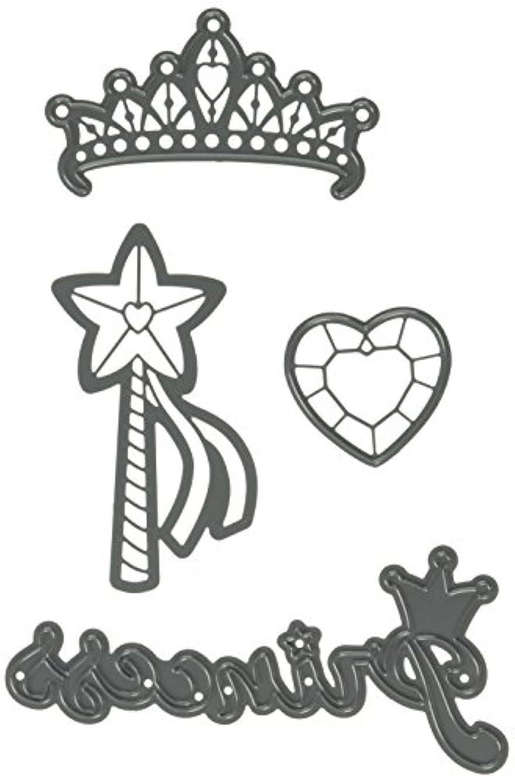 Darice 30023080 Die Cut Emboss Stencil Princess