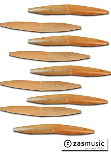 Palas gubiadas y con forma BONAZZA para oboe barroco