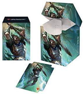 MTG War of The Spark V1 Gideon Blackblade Ultra Pro Printed Art Deck Box Magic The Gathering Case Protectors