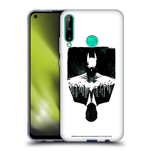 Head Case Designs Oficial Batman DC Comics Alter Ego Paisaje Urbano Dualidad Carcasa de Gel de Silicona Compatible con Huawei P40 Lite E