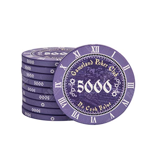 GFPR 10 pcs Poker Chips, Casino Chips,...