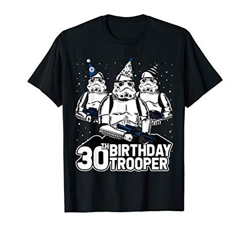 Star Wars Stormtrooper Party Hats Trio 30th Birthday Trooper T-Shirt