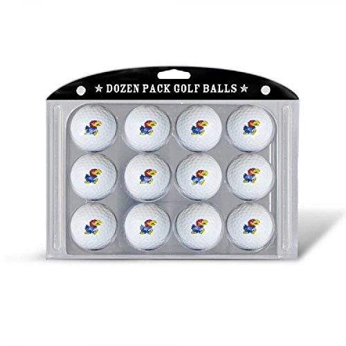 NCAA Balles de Golf, Lot de 12, 21703, Kansas Jayhawks
