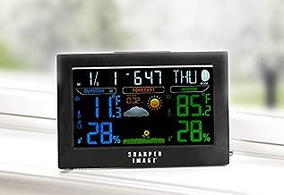 Sharper Image Color Weather Station