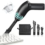 EASYOB Keyboard Cleaner|Mini Vacuum for Desk, Handheld Cordless Computer Vacuum Rechargeable (with LED Light) for Cleaning Hairs, Crumbs for Desktop, Piano, Car Interior & Sewing Machine Clean