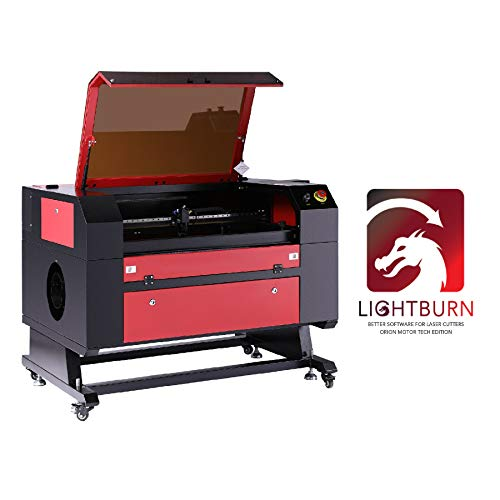 Orion Motor Tech Upgraded 100W CO2 Laser Engraver Cutter 20
