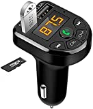 Bluetooth 5.0 FM Transmitter Car Kit MP3 Modulator Player Wireless Handsfree Audio Receiver 3.1A Dual USB Fast Car Charger