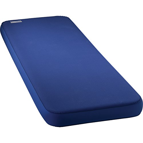 XX-Large Self Inflating Air Mattress Camping with Vertical Sidewalls and Polyester Underneath