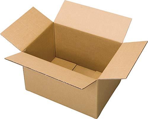 オフィスデポオリジナル ダンボール箱 3辺合計120cm以内 10枚入 底面A3サイズ対応 L-b