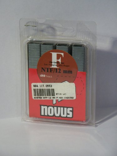 Novus 042-0382 Klammer F Ntf 12 mm 480 St