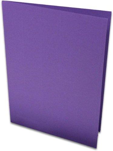 Briefkaart HD A5 lila geribbeld