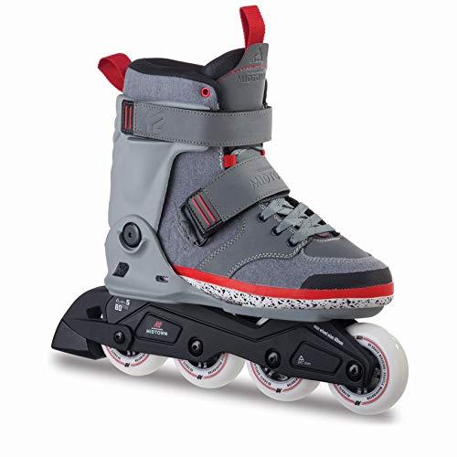 K2 Inline Skates MIDTOWN Für Erwachsene Mit K2 Softboot, Grey, 30A0014