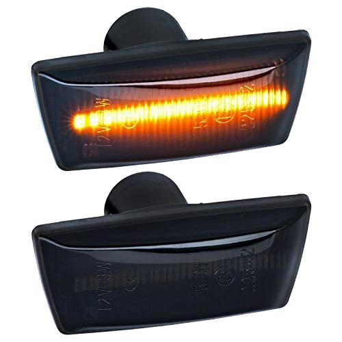 phil trade LED SEITENBLINKER schwarz kompatibel für Adam Astra H J GTC Corsa D E |71010-1