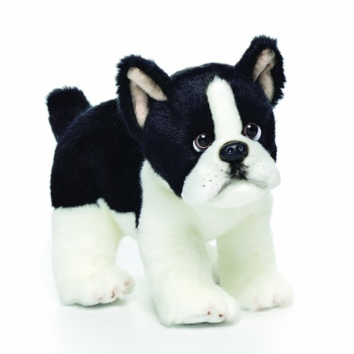 Nat and Jules Boston Terrier Plush Toy, Small