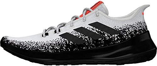 Adidas SenseBOUNCE + M, Zapatillas de runningHombre Hombre, Blanco (FTWBLA/NEGBÁS/Rojsol), 45 1/3 EU