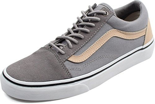 Vans Herren Ua Old Skool Sneakers, Grau (Veggie Tan Frost Gray/True White), 44 EU, VA38G1MN6