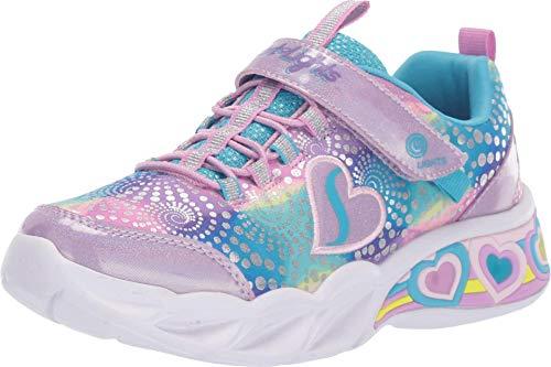Skechers Mädchen Sweetheart Lights Sneaker, Lvmt, 28 EU