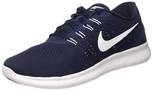 Nike Free RN, Scarpe da Corsa Uomo, Blu (Obsidian/White/Black), 41 EU