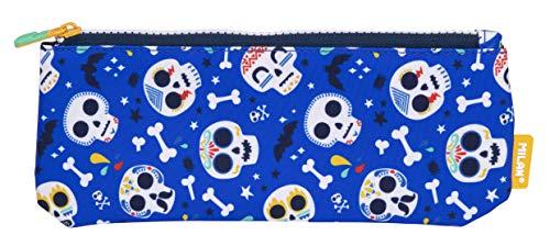 MILAN Portatodo Pequeño Plano Bats&Bites Azul Estuches, 23 cm, Azul