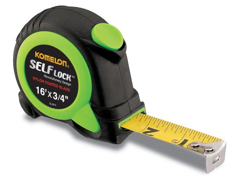 Komelon SL2816; 16' x 3/4' Self-Lock Tape Measure