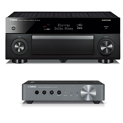 Amazing Deal Yamaha RX-A1070Network AV Receiver with WXA-50 MusicCast Wireless Streaming Amplifier