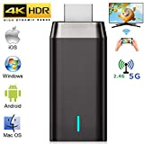 Wireless Display Adapter, LAIDUOAO 4K&5G&1080P Wireless HDMI Adapter Miracast Dongle Streaming Media Player Mirroring Screen from Small to Big Screen, Support 2.4G/5G Miracast Airplay DLNA