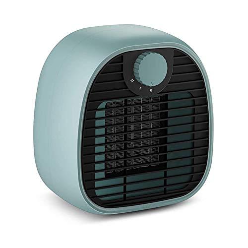 XIANGAI Calefactor Pequeños electrodomésticos Aire Caliente Portátil cerámica Calentador con termostato Ajustable Personal eléctrico HEA.