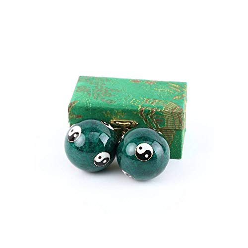 lachineuse Qi Gong Gesundheitskugeln, traditionell, Yin Yang Vert