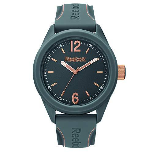REEBOK Herren Analog Quarz Uhr mit Silikon Armband RF-SDS-G2-PAIA-A3