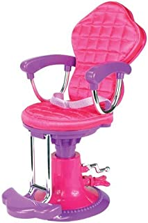 Salon Doll Chair Fit for 18 Inch American Girl Doll | Perfect Salong Chair for Brushing and Styling Doll's Hair [並行輸入品]