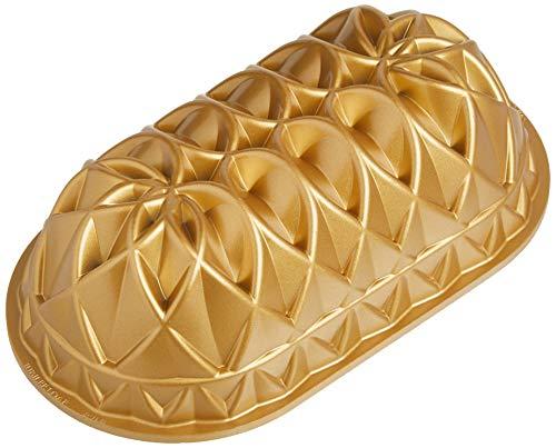 Nordic Ware 82677 Jubilee - Molde para pan (aluminio), color dorado