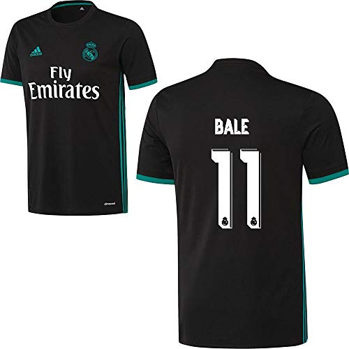 adidas Fußball Real Madrid CF Trikot Away 2017 2018 Herren Gareth Bale 11 Gr XXL