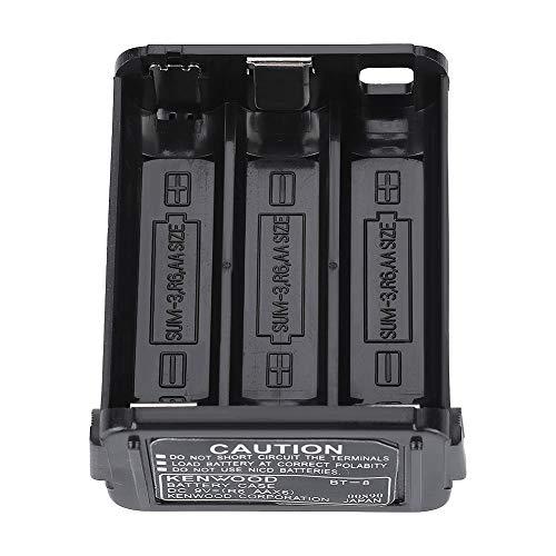 Bewinner Caja de batería, Caja de batería Kenwood TH-28 / TH-48 / TH-78HT, no Compatible con baterías de níquel-cadmio - (6 * AA)
