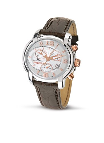 Philip Watch Orologio al Quarzo Anniversary Marrone 42 mm