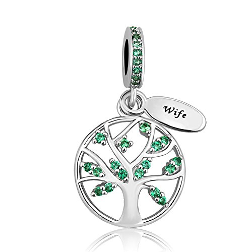 Lifequeen Heart Love Family Tree of Life Charm Mom Wife Grandma Forever Celtic Knot Charms Bracelets (Family Tree-4)