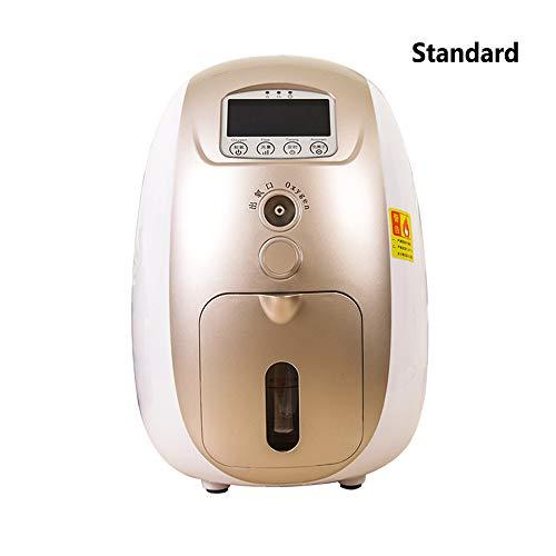 Draagbare medische zuurstof generator Vernevelaar Ventilator Slaapfunctie Maker 1 L Hoge concentratie zuurstofmachine