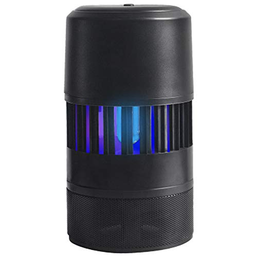 Mosquito Killer Trampa para insectos Control inteligente Trampa para moscas, Bug Zapper - Luz UV, alimentado por USB, ventilador incorporado, fácil de usar y limpio para uso doméstico, interior y ex