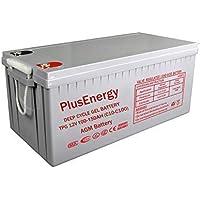 wccsolar.es Bateria AGM Y Gel 12V PlusEnergy 150AH 250AH (Gel 250AH 12V)