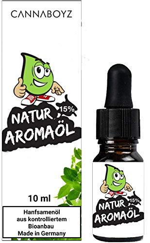 CANNABOYZ®Bio Natur Aromaöl - 15% -...