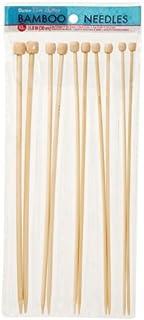 Darice Needles Set, Bamboo/Wood, 14 x 1 x 34 cm